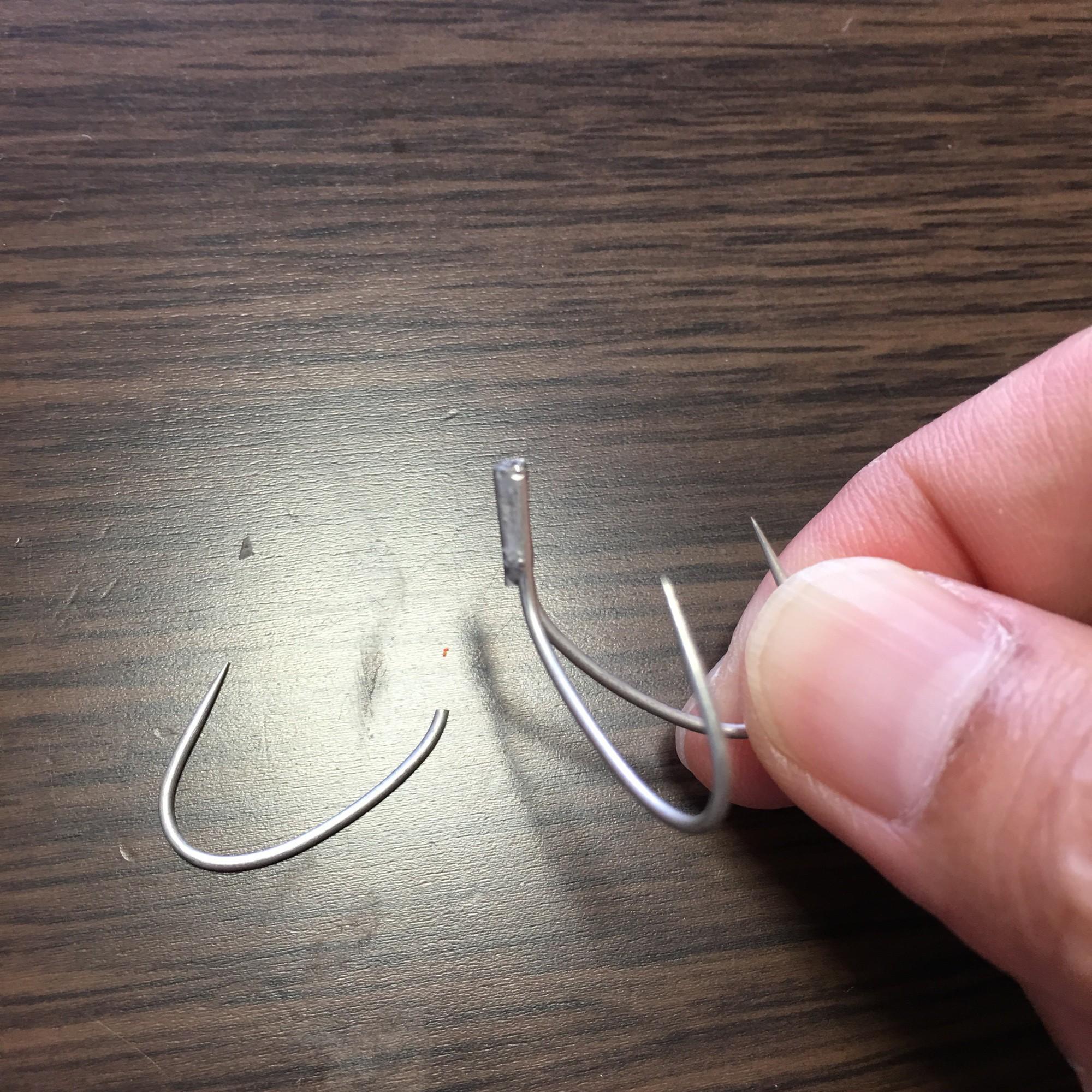 針が折れた